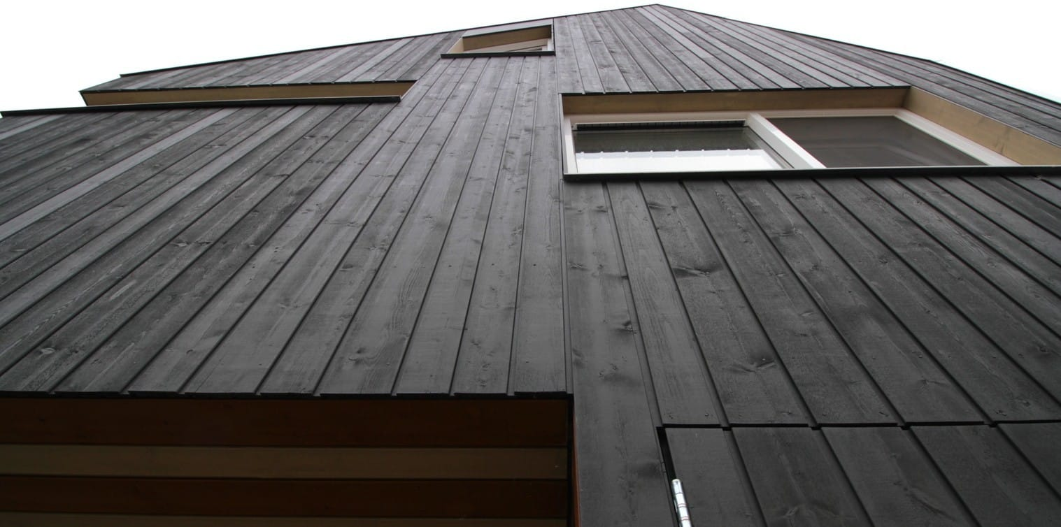 houten gevelbekleding
